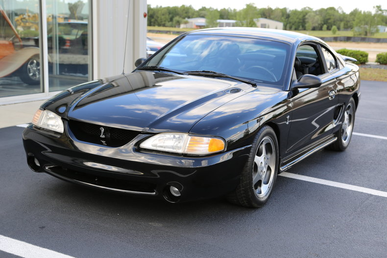 black 1995 ford mustang cobra for sale mcg marketplace. Black Bedroom Furniture Sets. Home Design Ideas