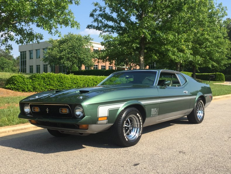 1972 ford mustang mach - photo #16