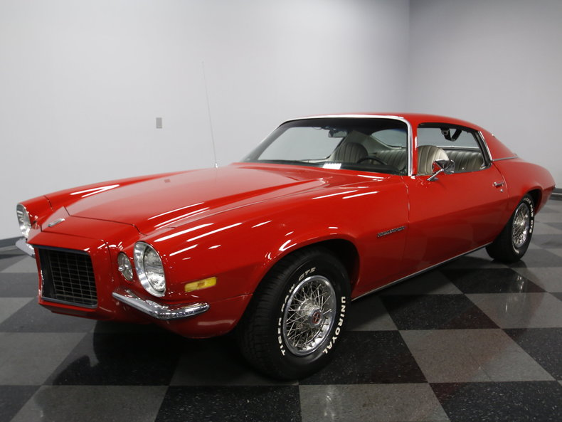 Red 1972 Chevrolet Camaro Rs For Sale Mcg Marketplace