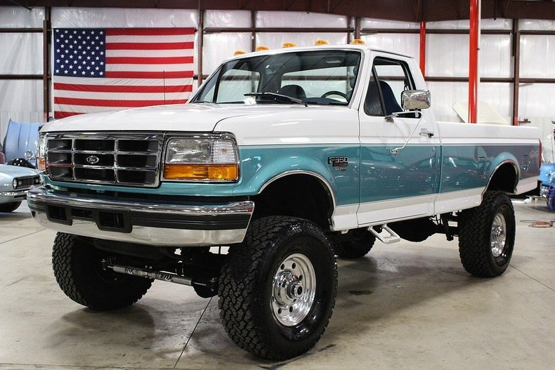 7.3 Powerstroke Motor >> White 1997 Ford F350 For Sale | MCG Marketplace