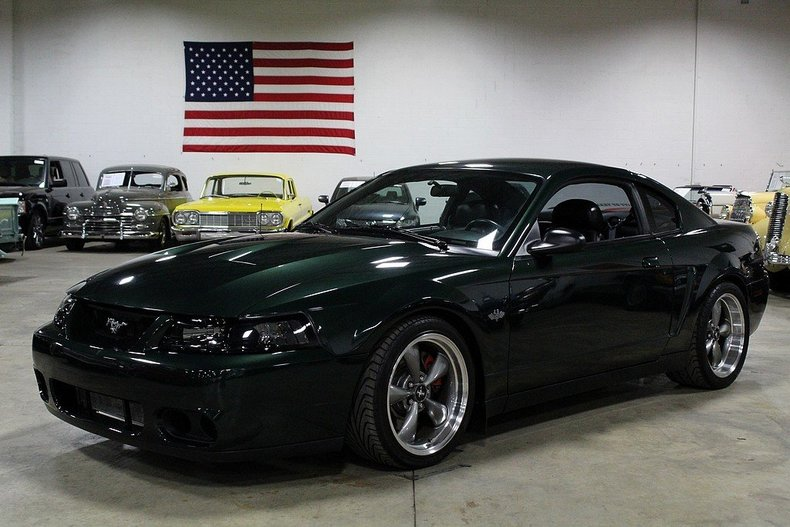 dark highland green 2001 ford mustang bullitt for sale. Black Bedroom Furniture Sets. Home Design Ideas