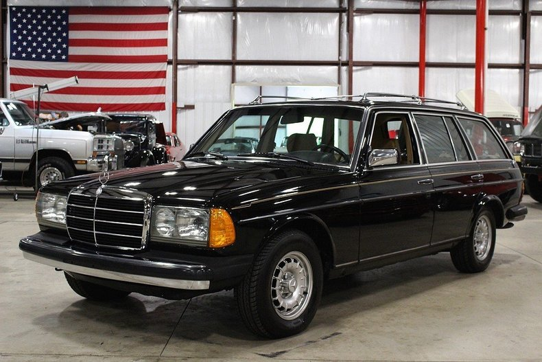 Black 1985 mercedes benz 300 td for sale mcg marketplace for Mercedes benz 300 td