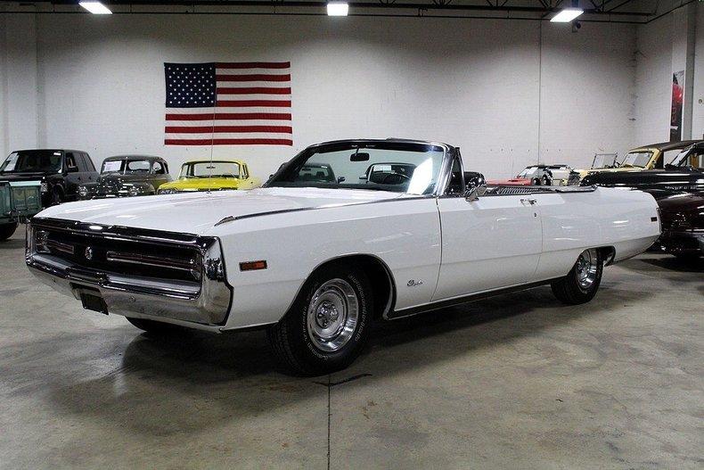 1970 Chrysler 300 Convertible For Sale: White 1970 Chrysler 300 For Sale