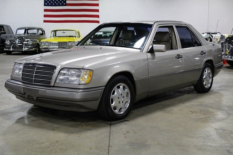 Champagne 1995 mercedes benz e300 for sale mcg marketplace for Diesel mercedes benz