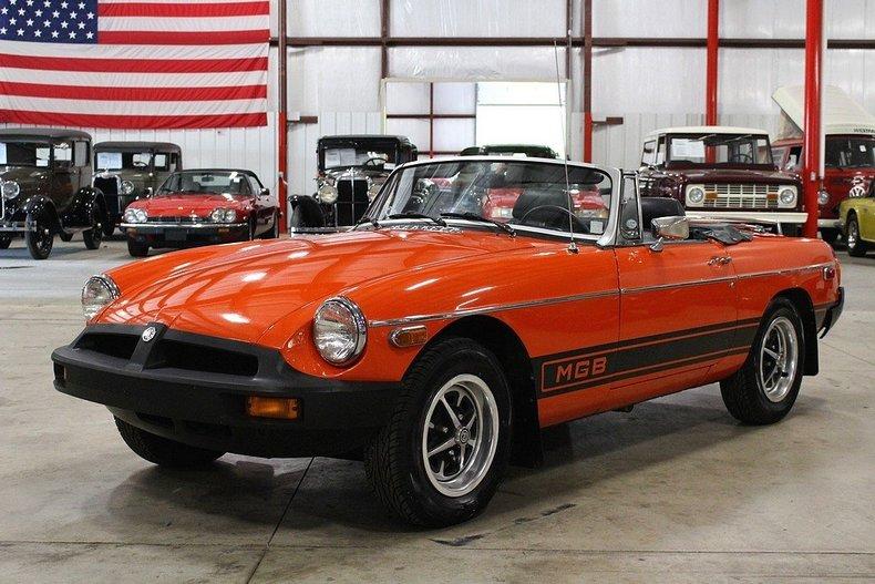 Orange 1979 mg mgb for sale mcg marketplace for Garage auto orange