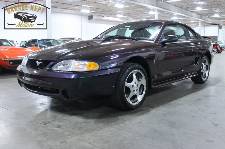 mystic clearcoat metallic 1996 ford mustang cobra svt for. Black Bedroom Furniture Sets. Home Design Ideas