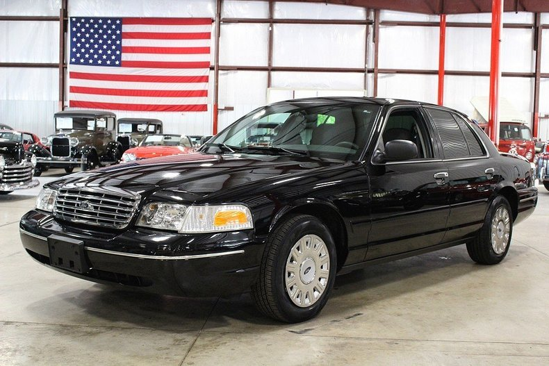 black 2005 ford crown victoria for sale mcg marketplace. Black Bedroom Furniture Sets. Home Design Ideas