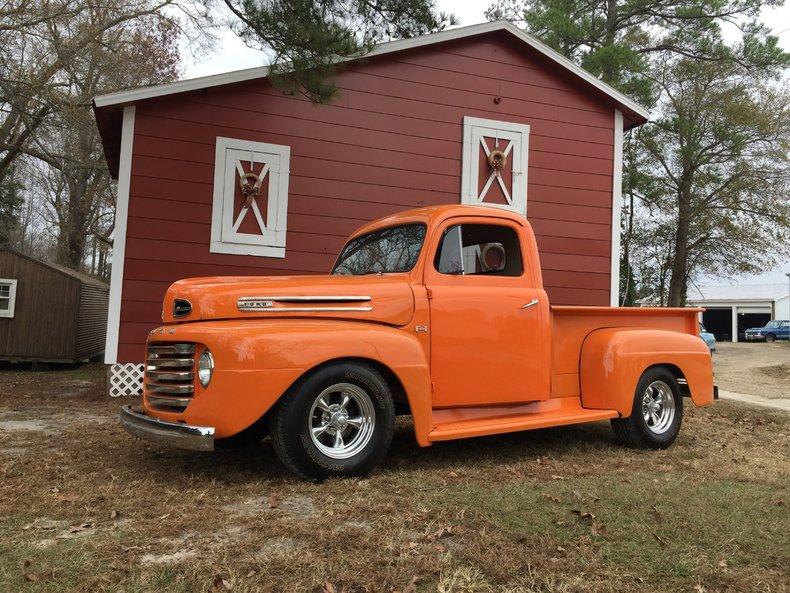 Orange 1952 ford f1 for sale mcg marketplace for Garage ford orange