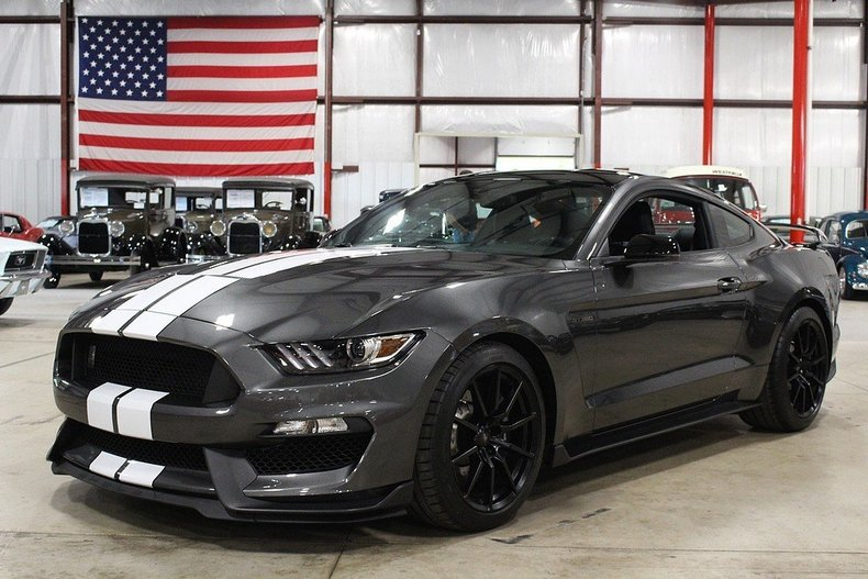 Magnetic Gray 2016 Ford Mustang Gt350 For Sale Mcg