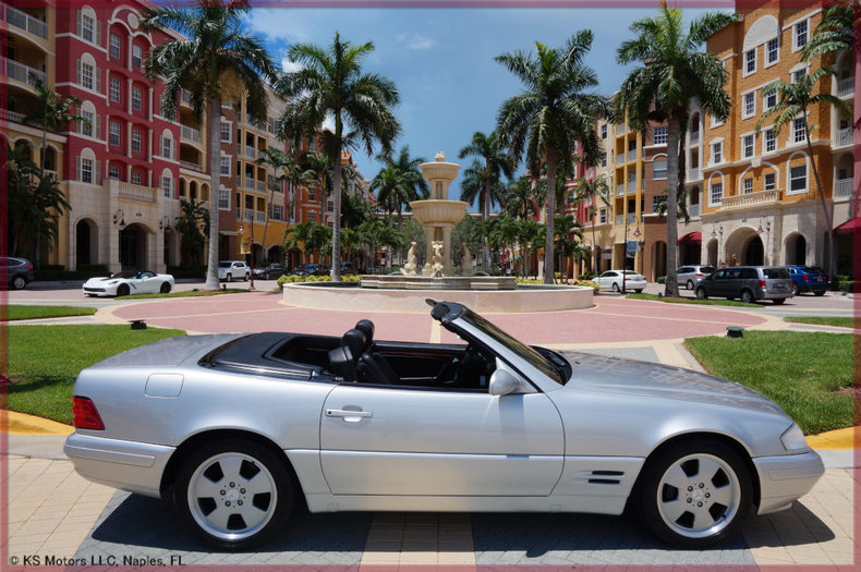 Silver 1999 mercedes benz sl500 for sale mcg marketplace for 1999 mercedes benz sl500 for sale