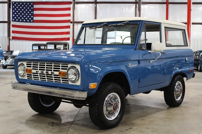 Blue 1969 Ford Bronco For Sale Mcg Marketplace