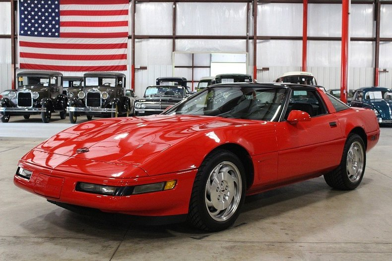 red 1995 chevrolet corvette for sale mcg marketplace. Black Bedroom Furniture Sets. Home Design Ideas