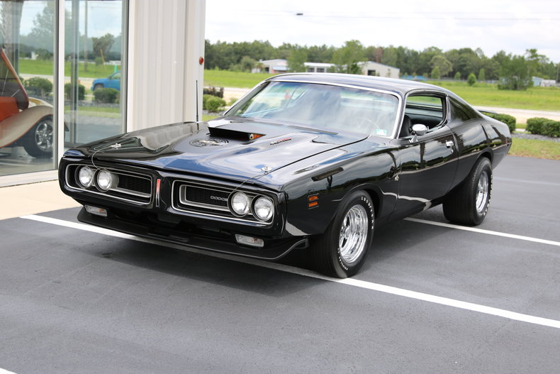 black 1971 dodge charger for sale mcg marketplace. Black Bedroom Furniture Sets. Home Design Ideas