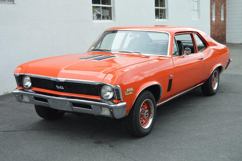 Chevy Dealers In Ma >> Hugger Orange 1970 Chevrolet Nova For Sale | MCG Marketplace