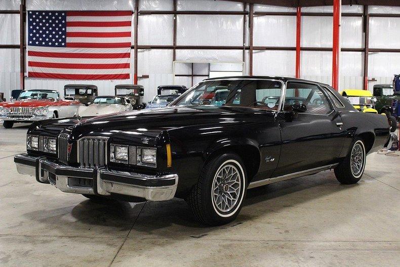 Grand Rapids Car Dealers >> Black 1977 Pontiac Grand Prix For Sale   MCG Marketplace