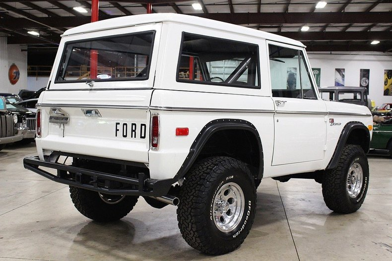 1972 ford bronco post mcg social myclassicgarage for Garage ford denney 90