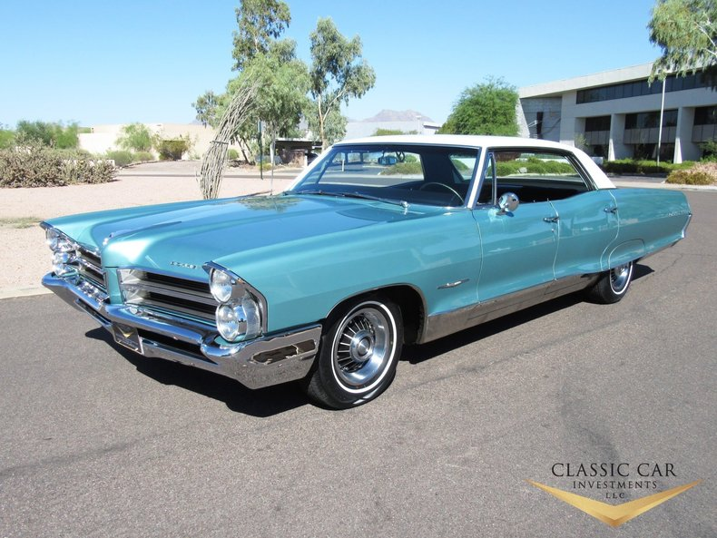 Reef turquoise 1965 pontiac bonneville for sale mcg for Garage auto bonneville