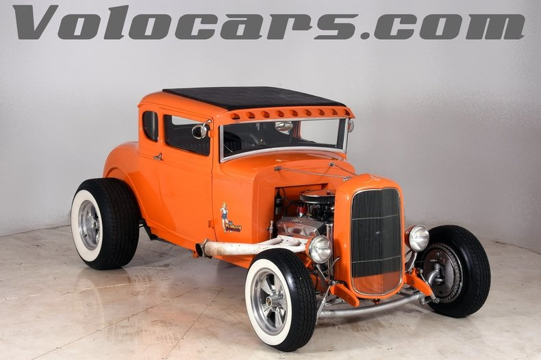 Orange dreamsicle 1931 ford a for sale mcg marketplace for Garage ford orange