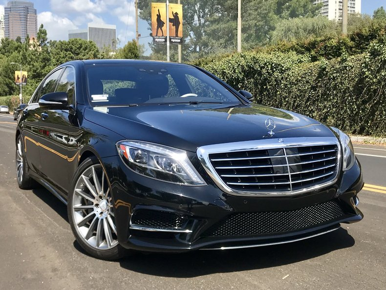 black 2015 mercedes benz s550 for sale mcg marketplace. Black Bedroom Furniture Sets. Home Design Ideas
