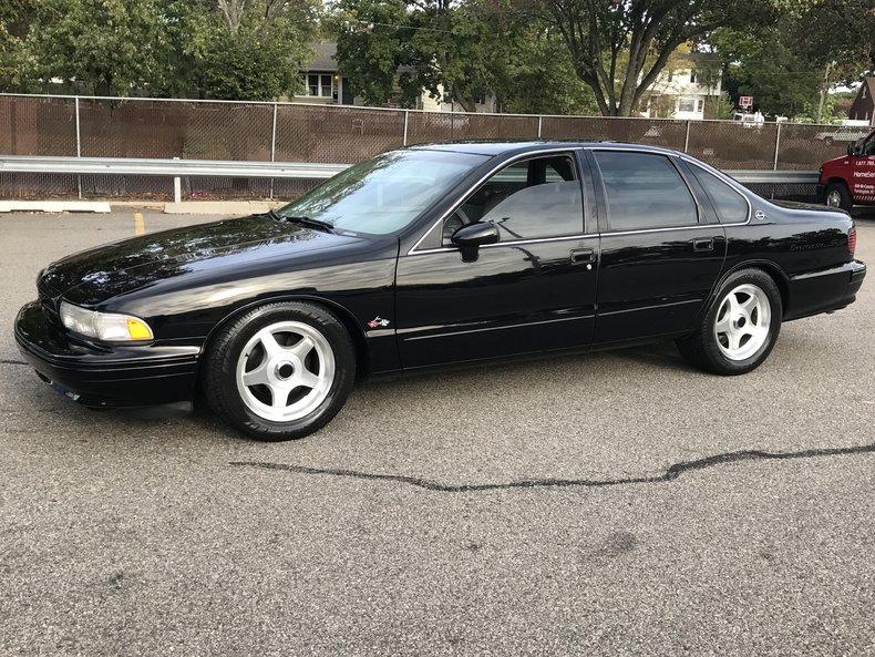 black 1994 chevrolet impala ss for sale mcg marketplace. Black Bedroom Furniture Sets. Home Design Ideas