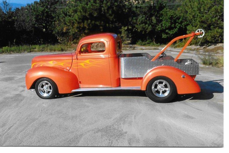 Orange 1941 ford f1 for sale mcg marketplace for Garage ford orange