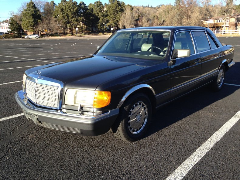 1989 mercedes benz 420 sel for sale mcg marketplace for Mercedes benz s 420