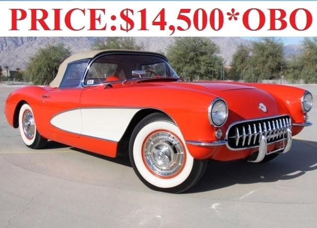 Red 1956 Chevrolet Corvette P 51a For Sale | MCG Marketplace