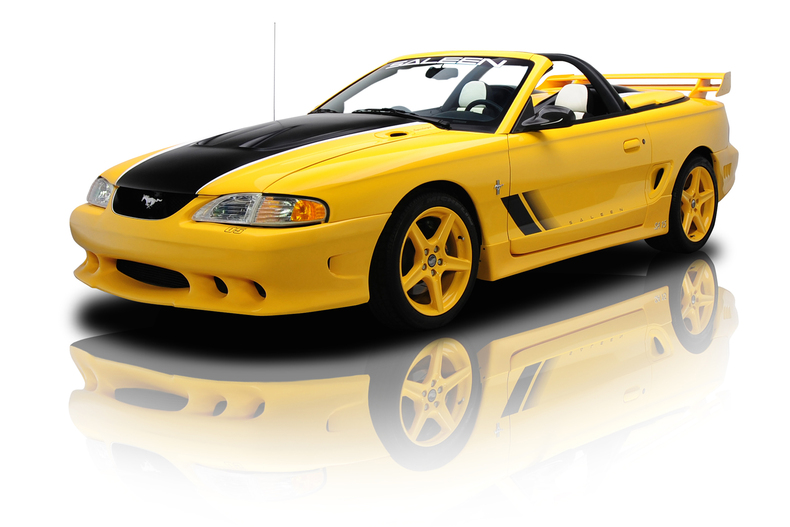 yellow 1998 ford mustang sa 15 for sale mcg marketplace. Black Bedroom Furniture Sets. Home Design Ideas