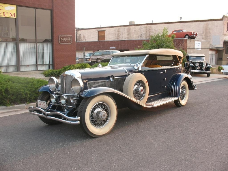 1929 Duesenberg Model J For Sale Mcg Marketplace