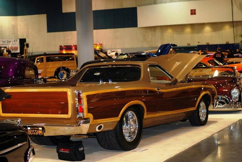 One Car Garage Size >> Woodgrain 1975 Ford Ranchero For Sale | MCG Marketplace