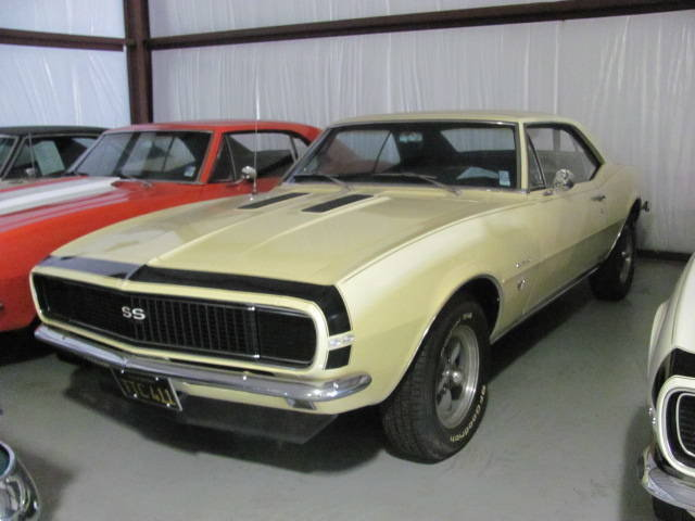 Yellow 1967 Chevrolet Camaro Rs Ss 350 For Sale Mcg