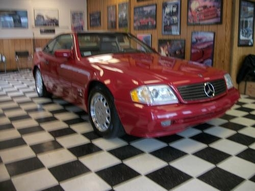 Red 1997 Mercedes Benz Sl600 For Sale  MCG Marketplace