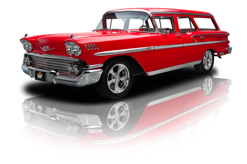 Red 1958 Chevrolet Nomad For Sale Mcg Marketplace