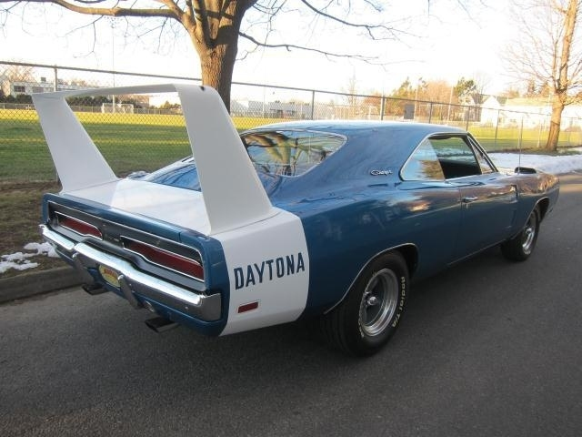 Blue 1969 Dodge Charger Daytona For Sale Mcg Marketplace