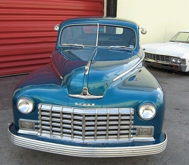 Blue 1948 Dodge Coupe For Sale