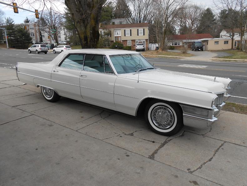 White 1965 Cadillac Calais For Sale Mcg Marketplace