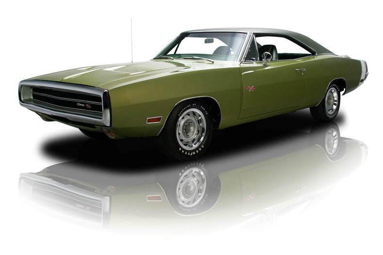 Green Metallic 1970 Dodge Charger R T For Sale Mcg