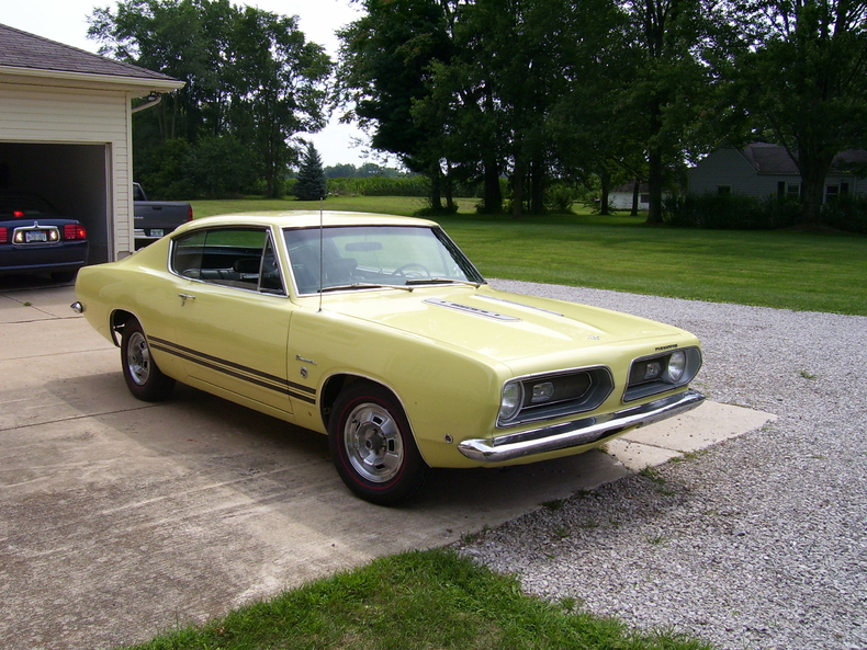 1968 Plymouth Barracuda For Sale  MCG Marketplace
