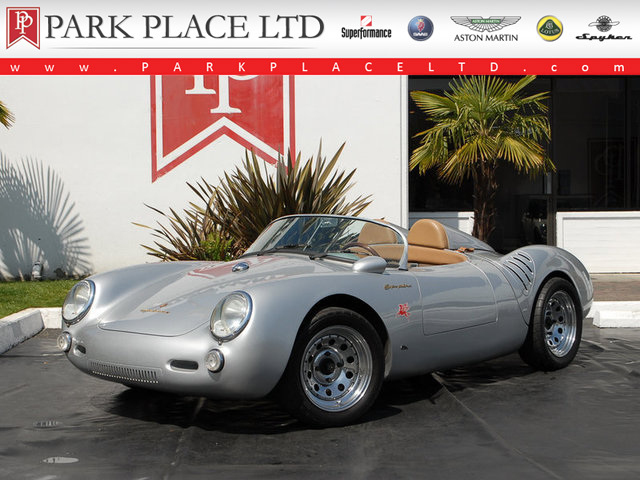 Silver 1955 Porsche 550 Spyder For Sale Mcg Marketplace