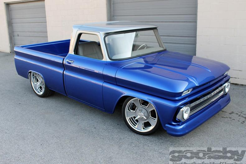 Blue 1964 Chevrolet C10 For Sale Mcg Marketplace