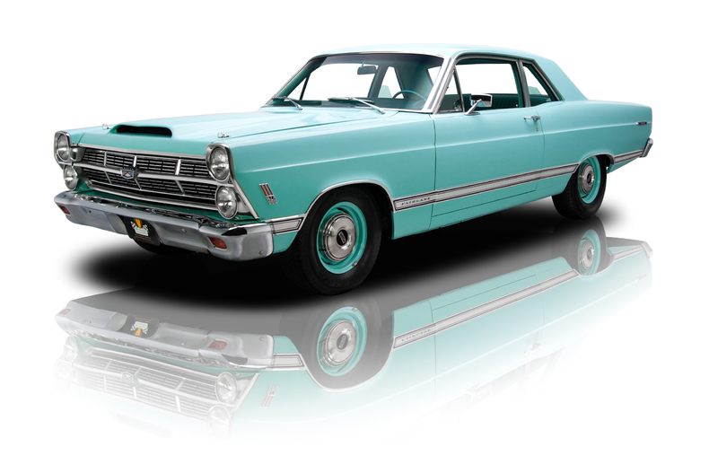 Turquoise 1967 Ford Fairlane 500 For Sale