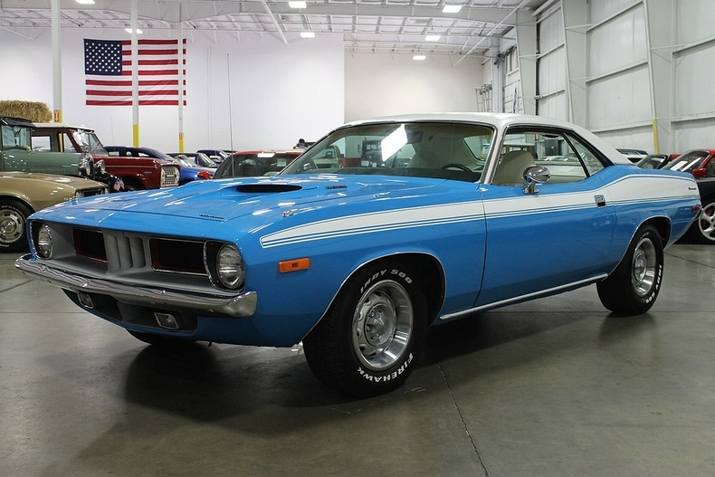 1973 Plymouth Cuda For Sale: New Glacier White 1973 Plymouth Barracuda For Sale