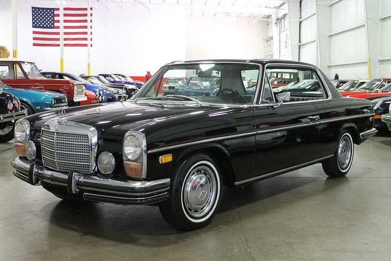 Black 1972 mercedes benz 250 c for sale mcg marketplace for Mercedes benz 250c
