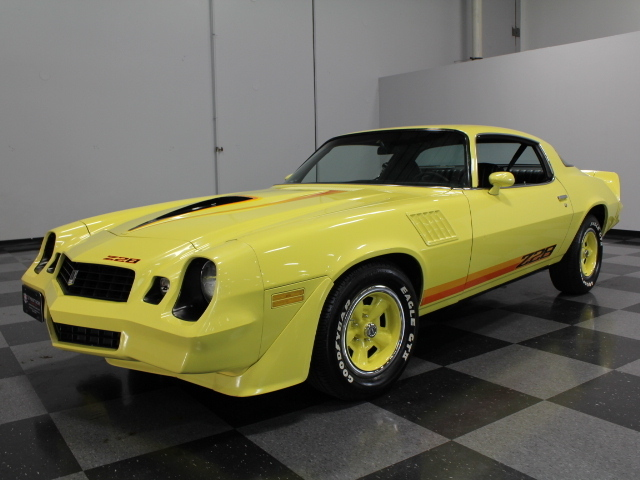 Yellow 1979 Chevrolet Camaro Z28 For Sale Mcg Marketplace