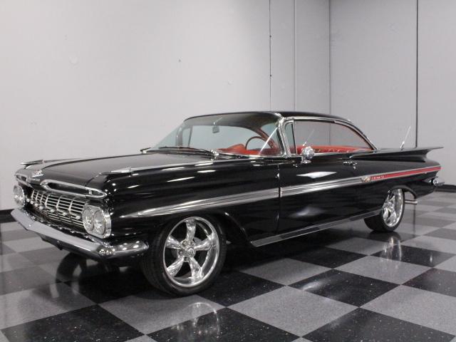 Black 1959 Chevrolet Impala For Sale Mcg Marketplace