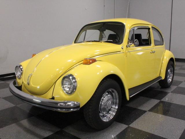 yellow 1972 volkswagen super beetle for sale mcg marketplace. Black Bedroom Furniture Sets. Home Design Ideas