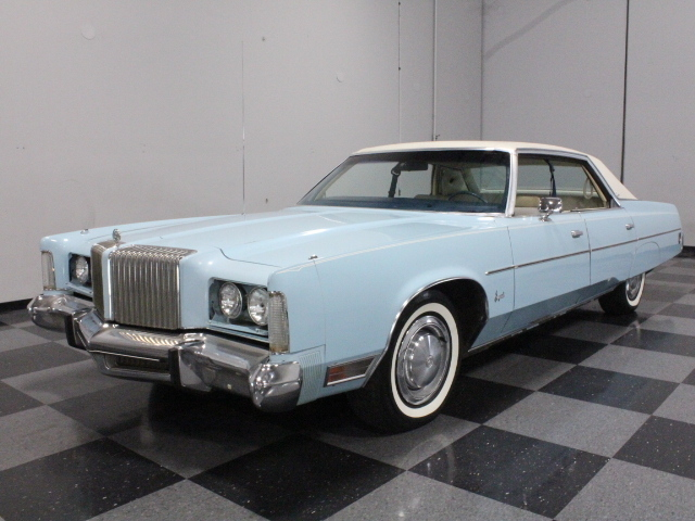 Blue 1975 Chrysler Imperial For Sale Mcg Marketplace