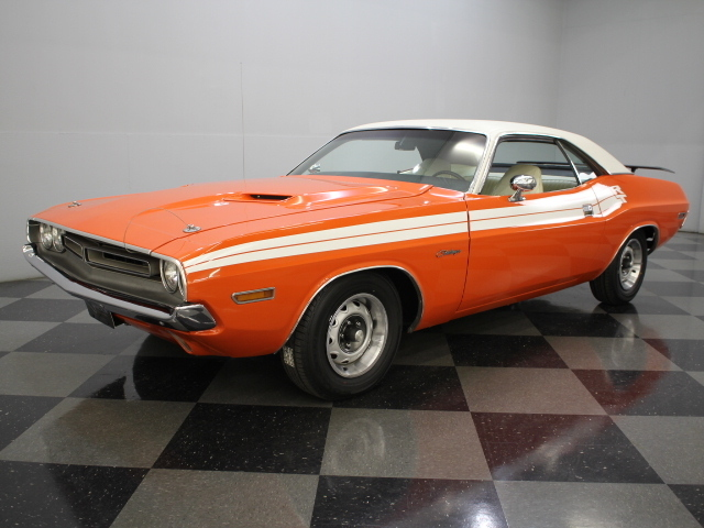 Hemi orange 1971 dodge challenger for sale mcg marketplace for Garage auto orange