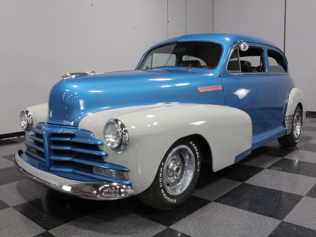 Blue 1948 Chevrolet Business Coupe For Sale Mcg Marketplace