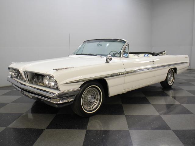 White 1961 pontiac bonneville for sale mcg marketplace for Garage auto bonneville